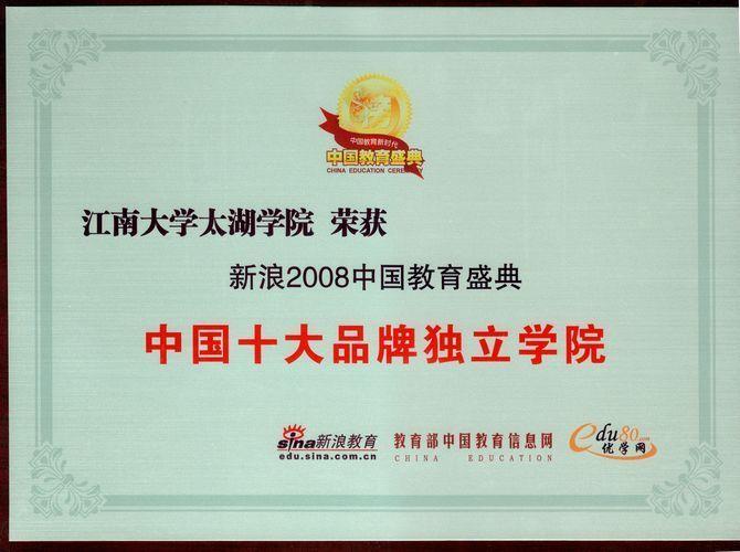 2012十大品牌民办高校